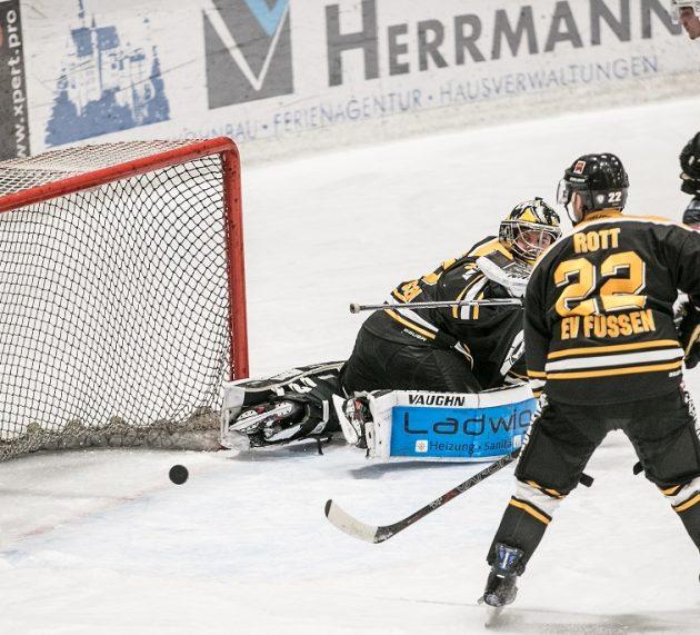 Dem Eissportverein geht beim 3:6 gegen Memmingen am Ende die Luft aus
