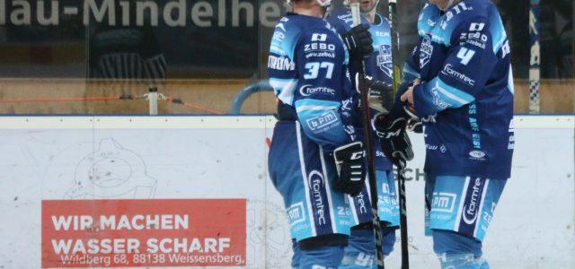 EV Lindau hat die Passau Black Hawks zu Gast beim letzten Heimspiel in diesem Jahr