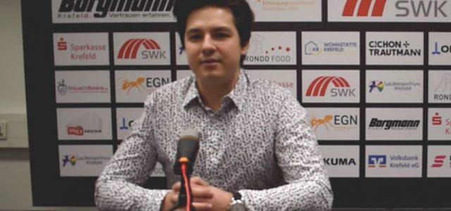 Krefeld: Entwicklung junger Spieler steht im Vordergrund – Sponsoringeinnahmen um lediglich 10% gesunken – Svarinskis nun offiziell Headcoach