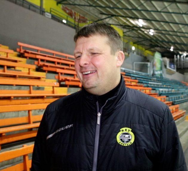 """KEV Trainer und Sportvorstand Elmar Schmitz: """"Besondere Zeiten"""""""