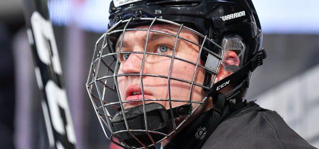 U18-Nationalmannschaft unterliegt zum Auftakt des Hlinka Gretzky Cup 2021