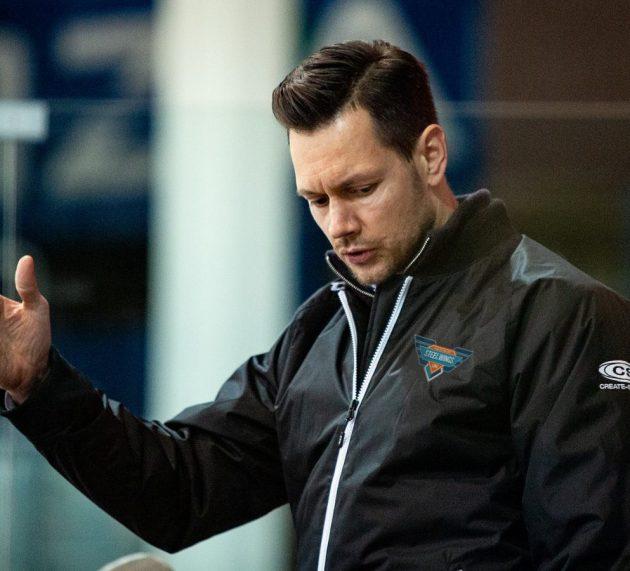 Phillip Lukas ist Steel Wings Trainer