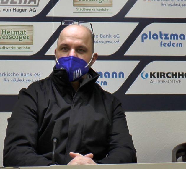 Das sagt Iserlohns Sportchef Christian Hommel zur aktuellen Situation bei den Roosters – Sauerländer reisen am Donnerstag nach Wolfsburg