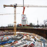Grundsteinlegung SAP Garden in München