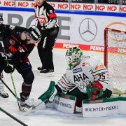 2:0 Führung reicht am Ende nur zu einem Punkt – Ice Tigers unterliegen Augsburg in der Overtime