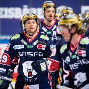 Eisbären mit 5:3 Arbeitssieg gegen Augsburg