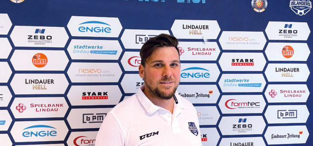 Stefan Wiedmaier ist neuer Headcoach der EV Lindau Islanders