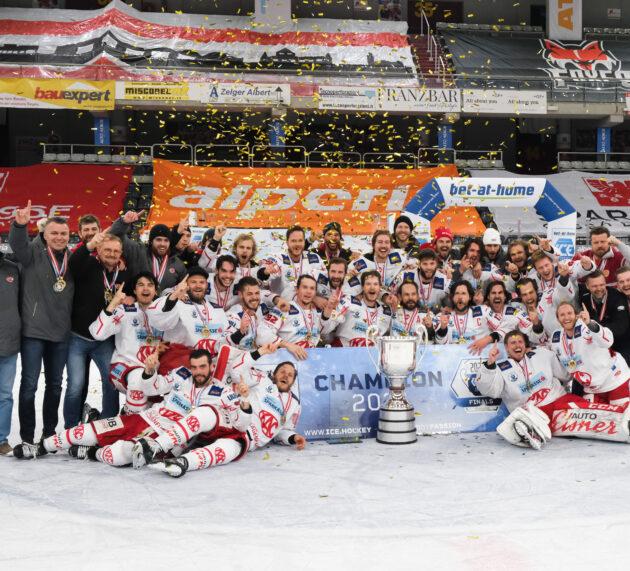 KAC gewinnt Spiel 5 in der Eiswelle mit 5:3 und ist Meister der ICE Hockey League