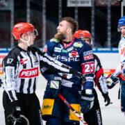 """Eisbären verlieren Traditions-Derby gegen Mannheim mit 1:3 – Serge Aubin: """"Wir haben gegen Mannheim und München gezeigt, dass wir auf Augenhöhe sein können"""""""