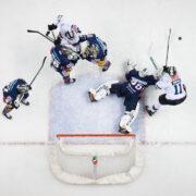 Eisbären gewinnen gegen Nürnberg mit 4:3 nach Penaltyschießen