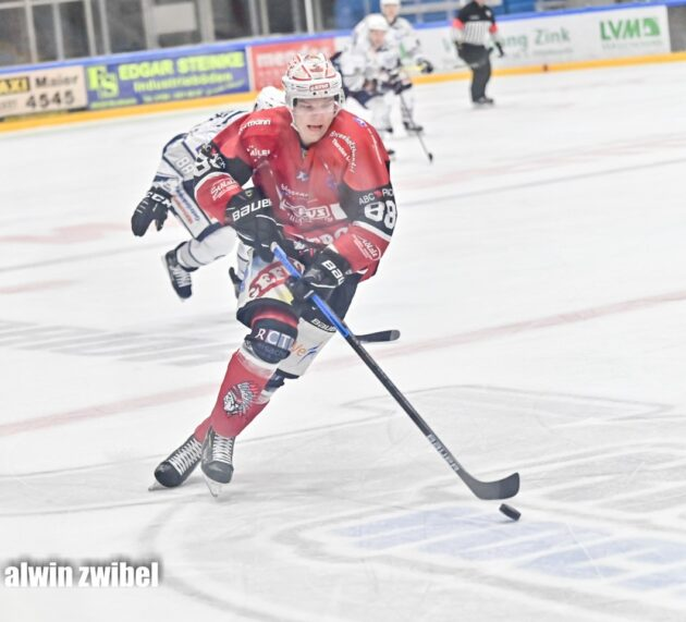 Spieler mit großem Potenzial: Donat Peter bleibt in Memmingen