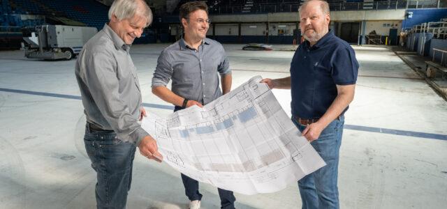 Der Startschuss ist gefallen – Modernisierte Halle für die Kassel Huskies