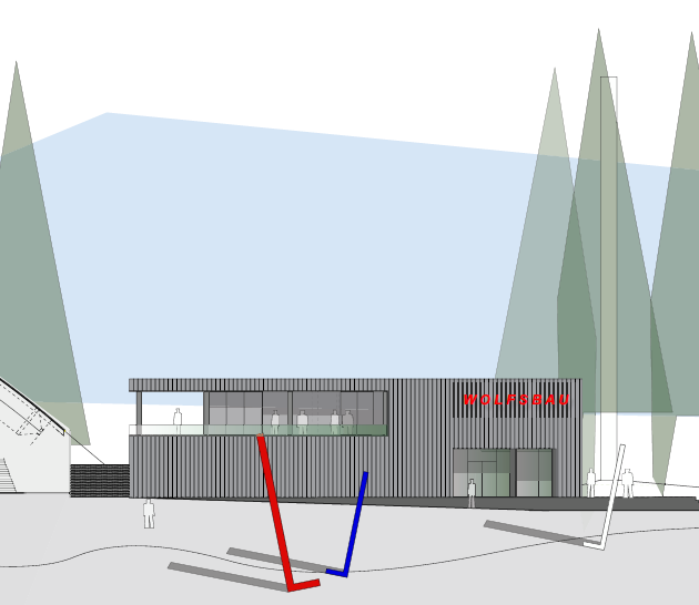 Baustart für Erweiterung Netzsch-Arena: Wolfsbau Gemeinnützige GmbH errichtet Neubau für den VER Selb e.V.