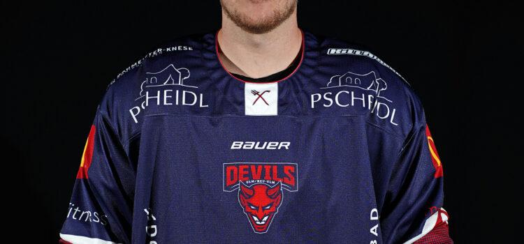 Weiter Teil des Teams: Robin Maag verlängert bei den Devils!
