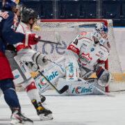 NHL-Erfahrung auf der Goalieposition der Black Wings