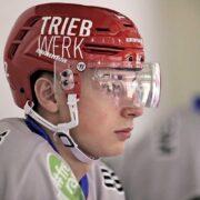 """""""Max hat das Potenzial für mehr"""" – Beruf und DEL2-Eishockey lassen sich für Max Gimmel unter einen Hut bringen"""