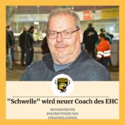 """Michael Schwellengreber wird neuer Coach des EHC – """"Die Kandidaten, die wir gerne gehabt hätten, haben Summen aufgerufen, da schlackerst Du mit den Ohren."""""""