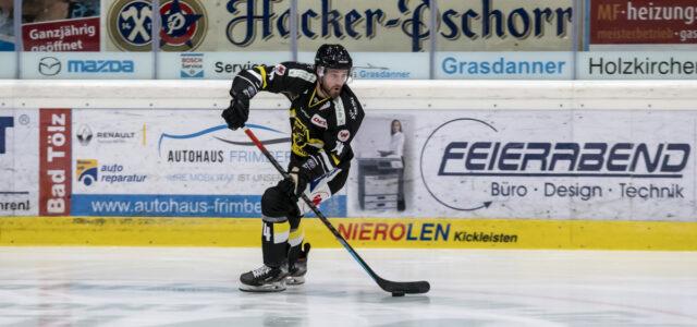 Bad Tölz: Tryout-Vertrag mit Nico Kolb verlängert