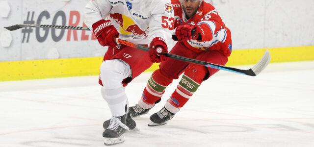 ICEHL am Sonntag: Red Bulls unterliegen im Nervenkrimi gegen Bozen – Stimmen zum Spiel im Video