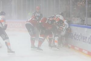Pucksuche im Nebel – © Sportfoto-Sale (DR)