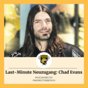 Last-Minute Neuzugang beim EHC Bayreuth: Chad Evans