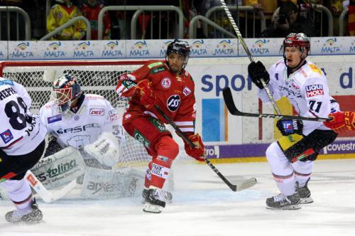Petri Vehanen (EBB) - Lukas Laub (DEG) - Blake Parlett (EBB)