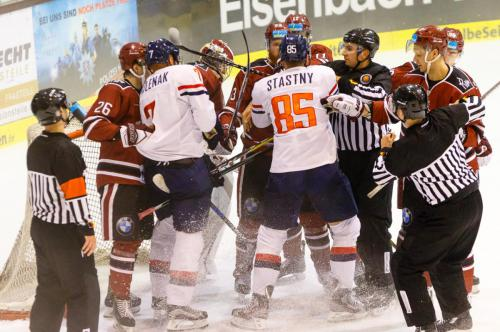 Wingas-Cup HK Slovan Bratislava vs. HK Dinamo Riga