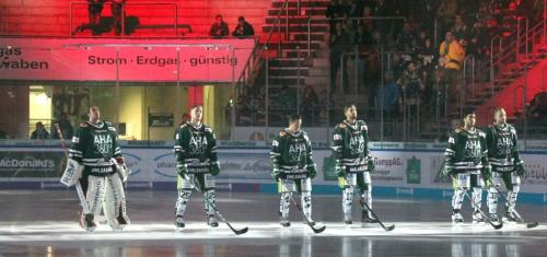 Starting Six der Augsburger Panther
