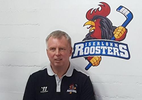 Iserlohns neur Trainer Rob Daum