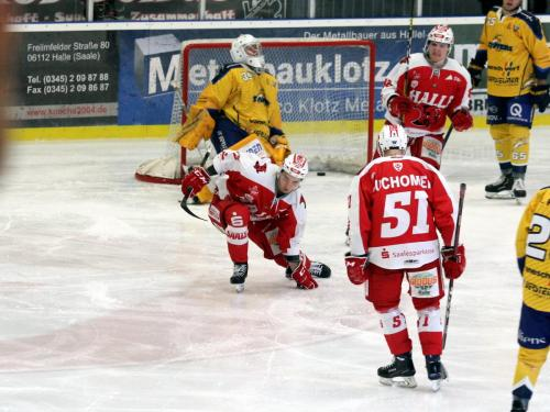 Saale Bulls Halle - Tilburg Trappers