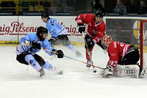 Florian Eichelkraut (IFL) - Pavel Pisarik, Sebastian Staudt (EVD)
