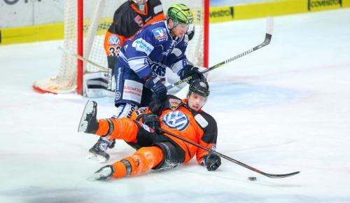 Eishockey, DEL, Iserlohn, Iserlohn Roosters vs. Grizzly Wolfsburg